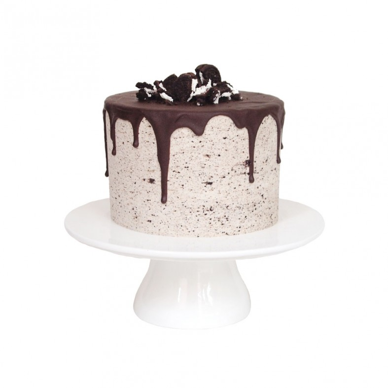 Chocolate Birthday Cake with Oreo