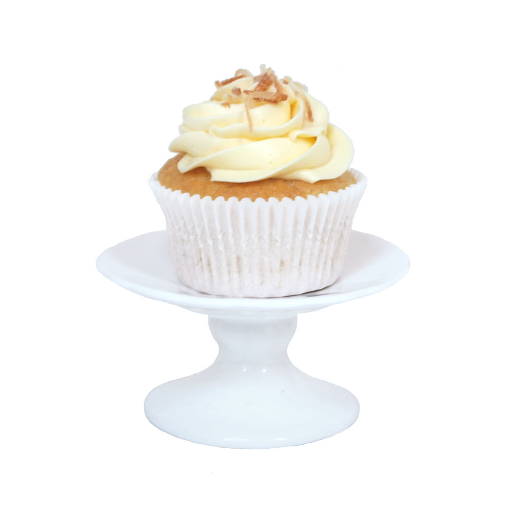 Coconut Passion Fruit Gluten Free Cupcakes