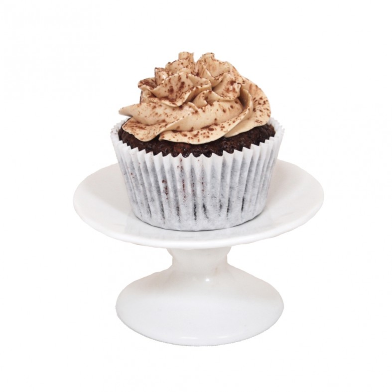Gluten Free Chocolate Cupcakes with Espresso Buttercream