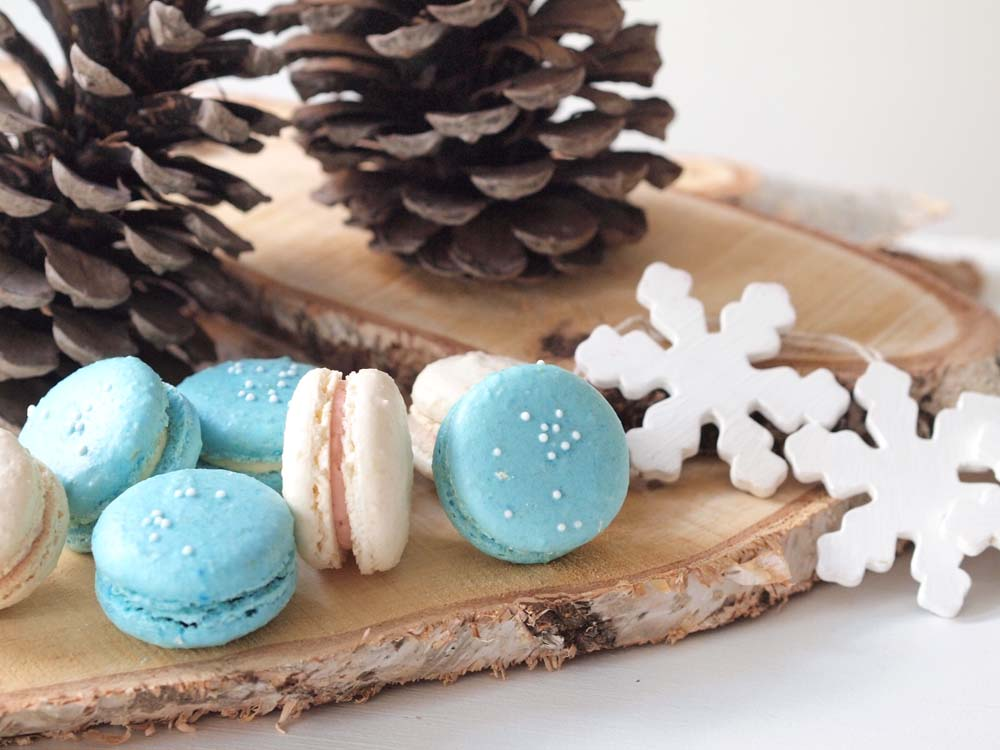 Winter - Macarons - Sugarlips Cakes Webshop