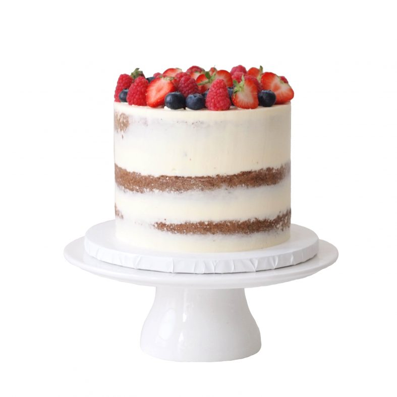 Order Naked Cake with Fresh Fruit