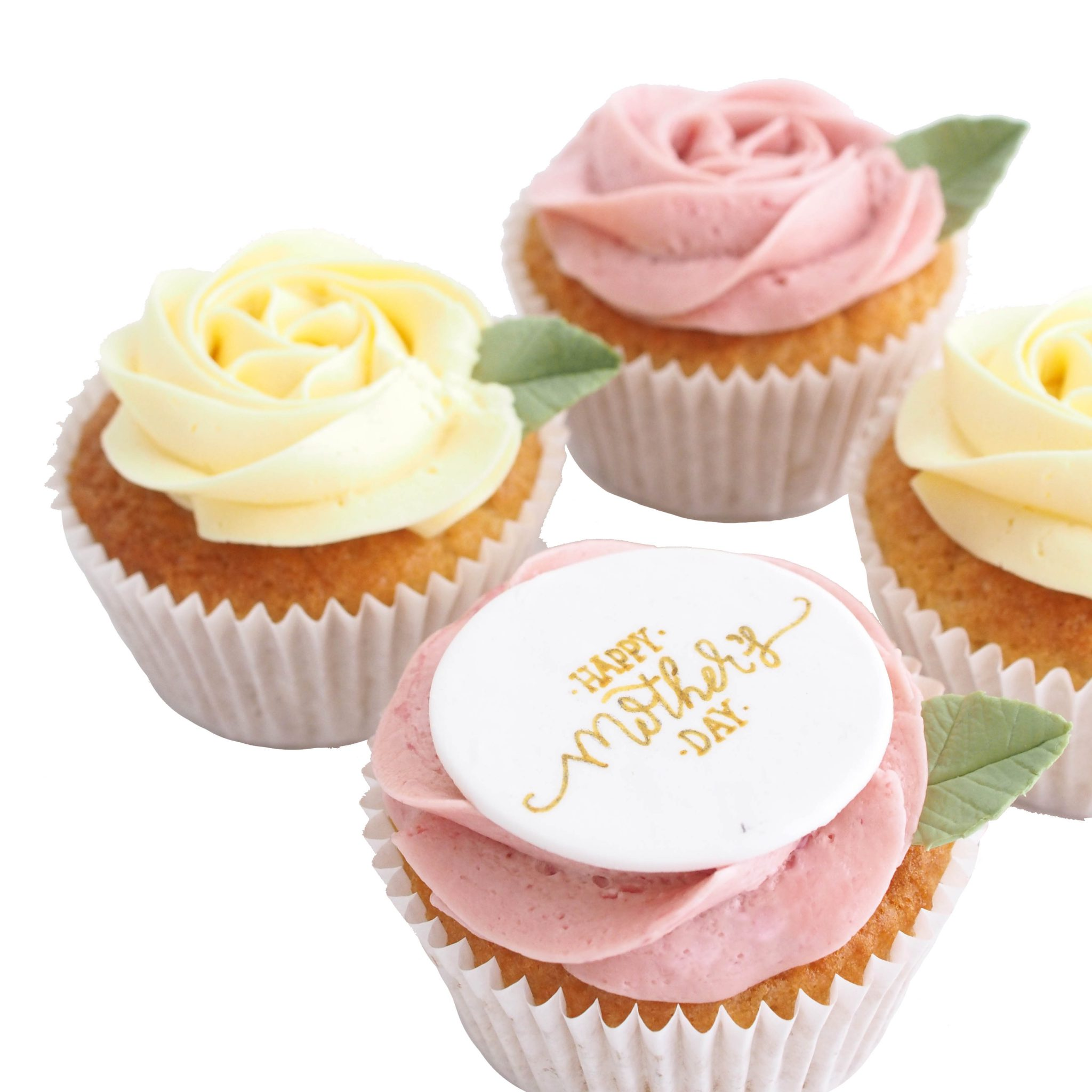 Mothers Day Cupcake Gift Box