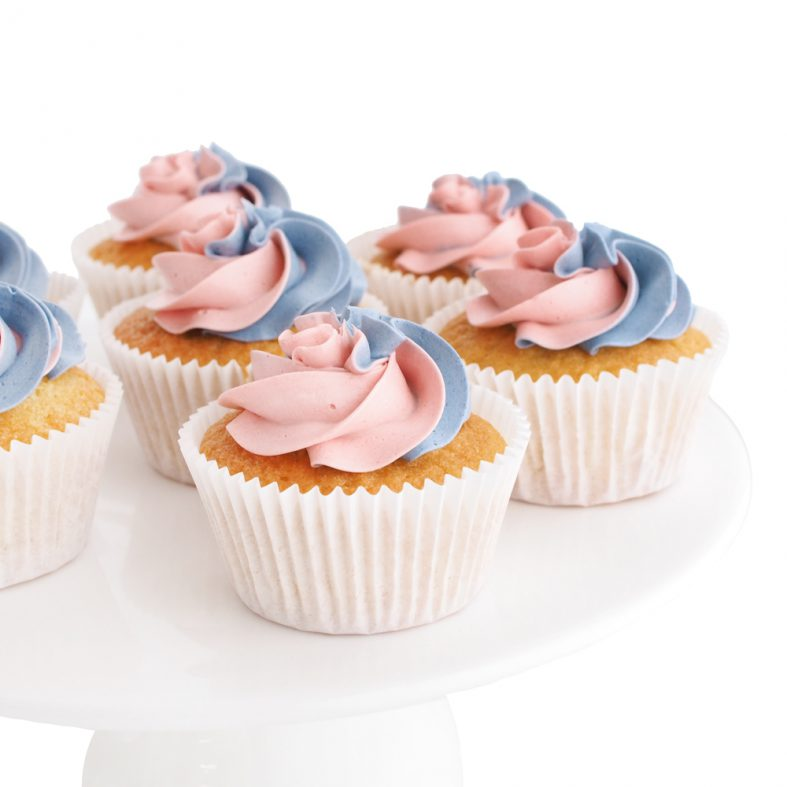 Gender Reveal Cupcakes in Utrecht